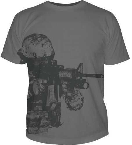 5.11 Inc Tactical Watcher Logo Short sleeve Shirt Charcoal M 41006BK018M