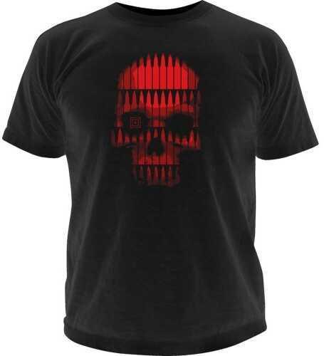 5.11 Inc Tactical Bullet Skull Logo short sleeve Shirt Black M 41006BL019M