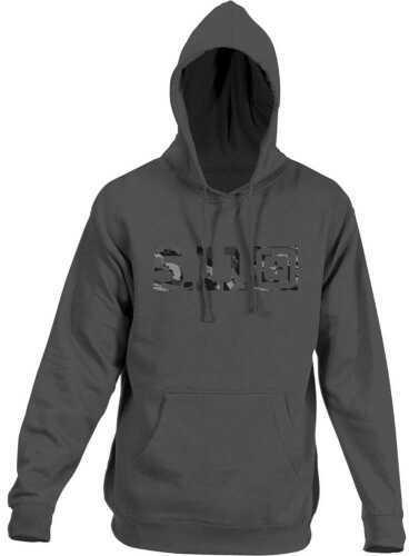 5.11 Inc Tactical Camo Logo HOODIE Gray Blue Large 42182AB681L