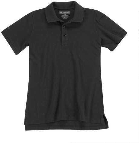 5.11 Inc 511 Tactical 18641 - Professional Polo Short Sleeve Women Black Medium Md: 61166019M