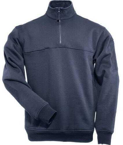 5.11 Inc 12684 - Job Shirt 1/4 Zip Fire Navy Medium