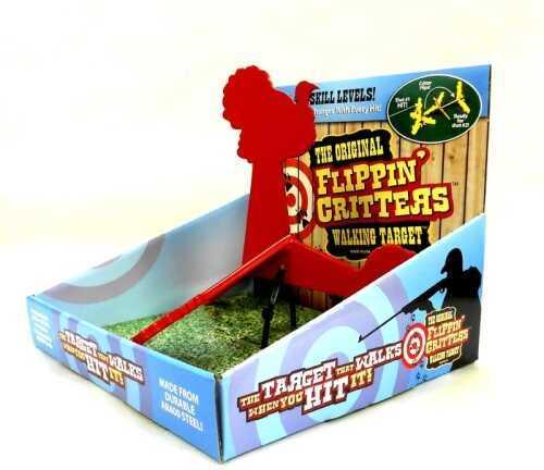 "FC FLIPPIN CRITTERS 1/4""(6) Turkey Red AR400 WT14TU22R"