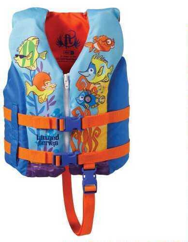 Full Throttle Child Hinged Water SPT Vest, Fish Design Md: 11250050000113