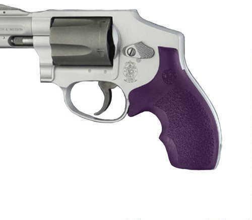 Hogue S&W J Frame Round Butt Grip Bantam, Purple Md: 61006