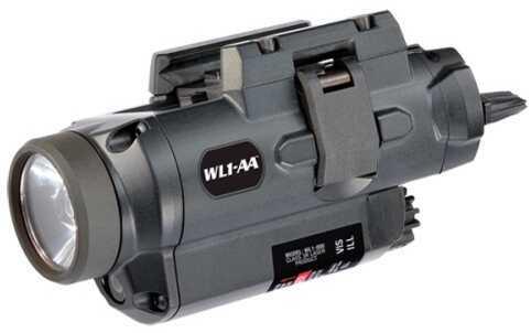 Insight Tech Gear WL Tac Light W/Laser Pistol Black Cree APG Led Cam Lock Rail Mount WL1-000-A1