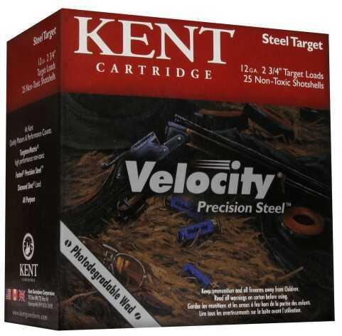 Kent Cartridges Velocity Precision Steel 12ga 2.75in #7 0.875oz 25rd K122TST247