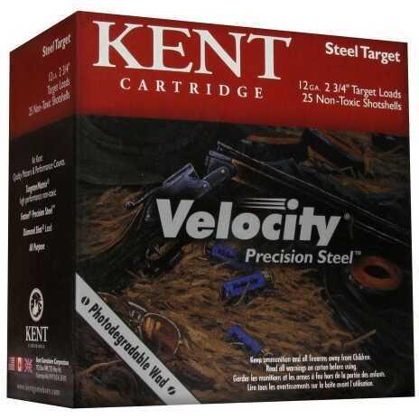 Kent Cartridges Velocity Precision Steel 12ga 2.75in #7 1oz 25rd K122TST287