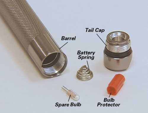 Maglite K3A/M3A Series Tail Cap Lip Seal 108000204