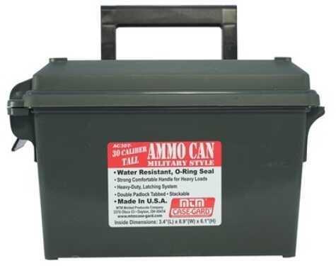 MTM Ammo Can 30 Caliber - Tall Black AC30T-40 AC30T40