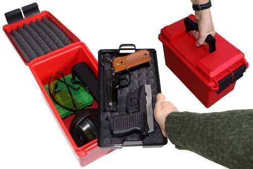 MTM Handgun Conceal Carry Case Red HCC-30 HCC30