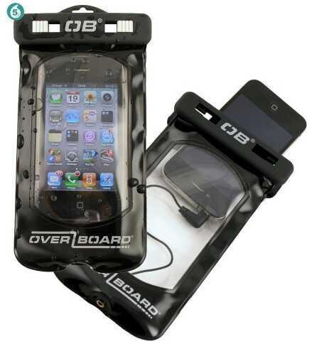 Overboard Smart Phone Case - Black