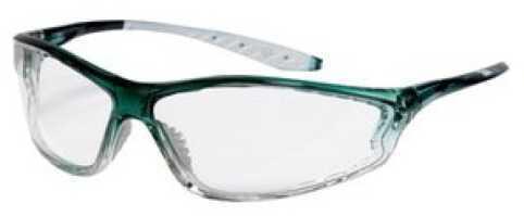 Peltor 3M TEKK Shooting Glasses Grn/CLR Blister 9070380025T