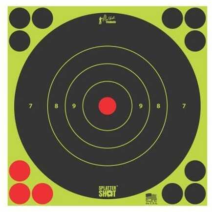 Pro-Shot 8in Green Bulls Eye Target 30 Quantity Pack Bg