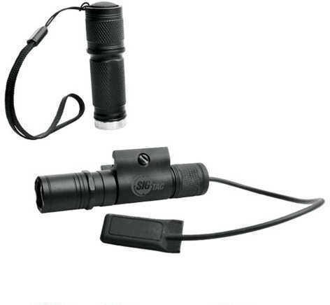 SigTac STL-100 Weapon Mounted LED Light w/Xtra Pocket Clip Body STL100-WPN-MNT