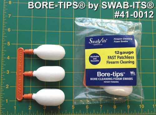 Swab It Bore Tip Shotgun 12 Ga 3Pk 410012
