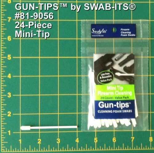 Swab It Gun Tip 3In Mini Tip Fm Swab 24 Pk 819056