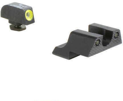 Trijicon Glock 42 HD Night Sight Set - YLW Front Md: GL113C600784