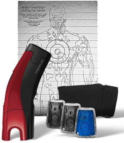 Taser Self-Defense Taser International TASER C2 Gold Kit 2 Live/1 Train Red 39030