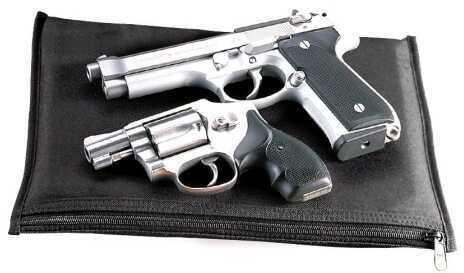 Uncle Mikes Black Pistol Pouch Md: 52418