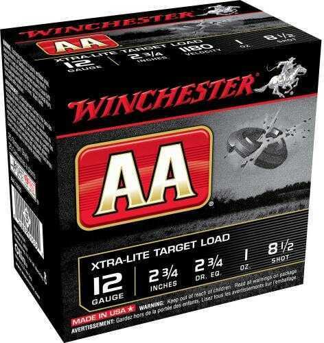 Winchester AA X-Lt TGT 12Ga 2.75In 1Oz 8.5 25/Bx