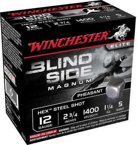 Winchester BLND Sd HX 12Ga 2.75In 1.25Oz 5 25/Bx