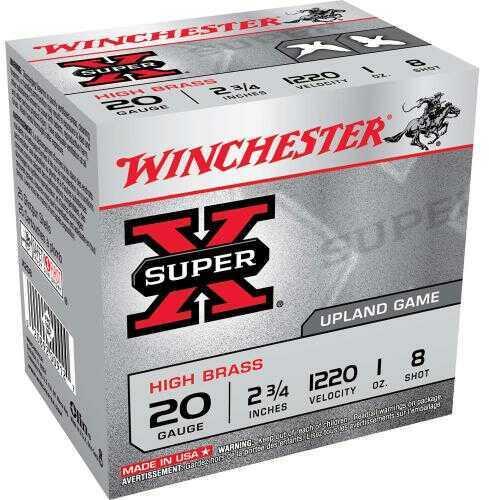 """Winchester 20 Gauge 20 Gauge, 2 3/4"""", 1oz 8 Shot, (Per 25) X208"""