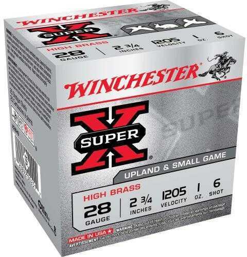 """Winchester 28 Gauge 28 Ga, 2 3/4"""" 1oz 6 Shot, (Per 25) X28H6"""