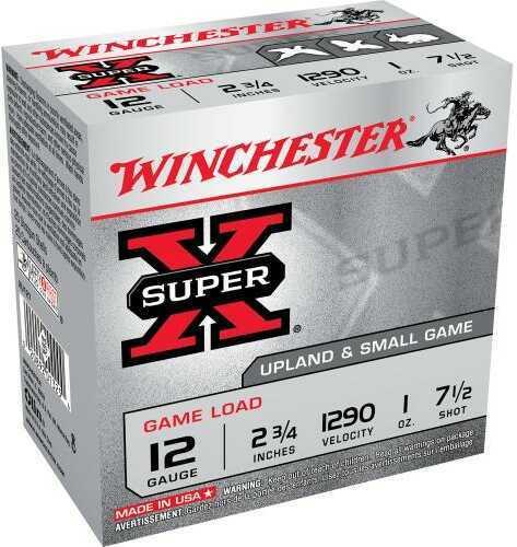 "Winchester 12 Gauge 12 Gauge, 2 3/4"" 1oz 7 1/2 Shot (Per 25) XU127"