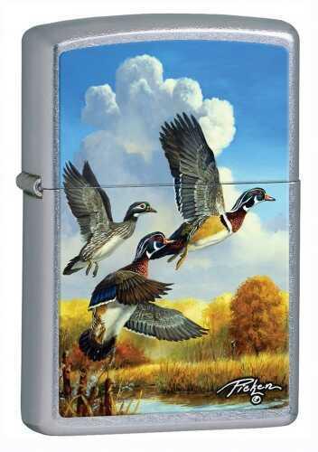 Zippo Lighter Lp - FLYING DUCKS Street Chrome 28009