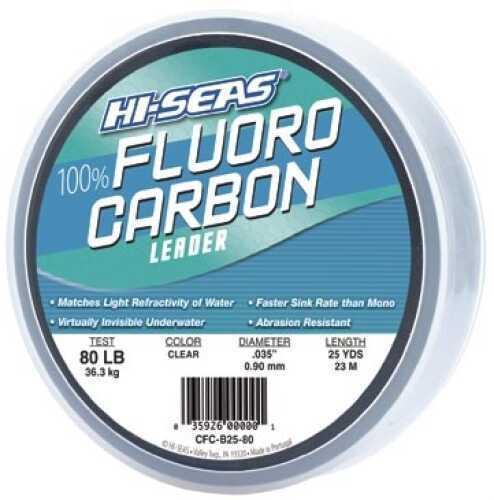 AFW / Hi-Seas AFW/Hi-Seas Hi-Seas Grand Slam Fluorocarbon 20# 25yd Bracelet Md#: CFCB25-20