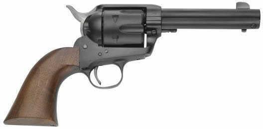 """Revolver 45 Colt 1873 SAA Black 4.75"""" Walnut Grips Pre War Pietta Millennium"""