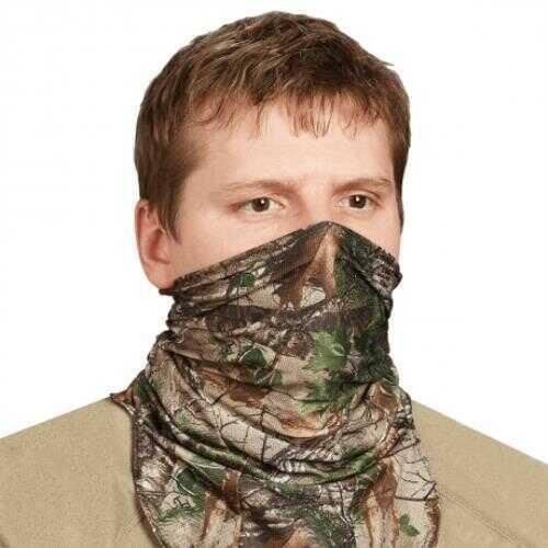 Hunter Specialties Scent-A- Way Silver Lightweight Spandex Neck Gaiter 1/2 Mask