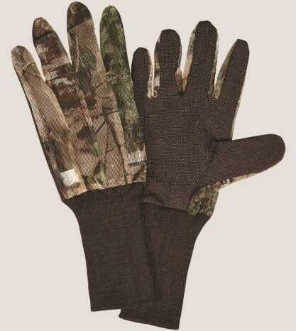 Hunter Specialties Mesh Glove Dot Grip Mossy Oak Break Up Country