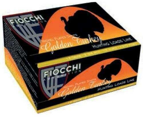 Fiocchi Ammo Fiocchi Golden Turkey 12 Gauge 3.5 Inch 2-3/8 Ounce #4 Shot Shotshells, 10 Rounds Per Box