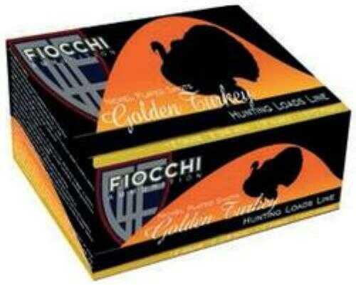 Fiocchi Ammo Fiocchi Golden Turkey 12 Gauge 3.5 Inch 2-3/8 Ounce #5 Shot Shotshells, 10 Rounds Per Box