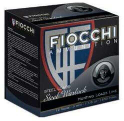 Fiocchi Ammo Fiocchi Speed Steel 12 Gauge 3 Inch 1-1/5 Ounce #2 Shot Shotshells, 25 Rounds Per Box