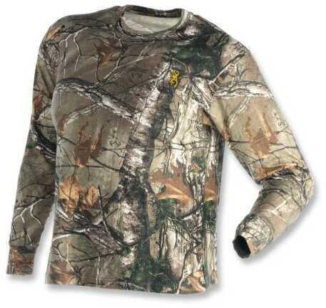 Browning Wasatch Shirt Long Sleeved Real Tree Xtra