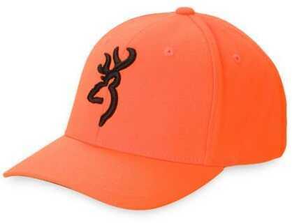 Browning Flexfit Safety Cap- Blaze Size S/M