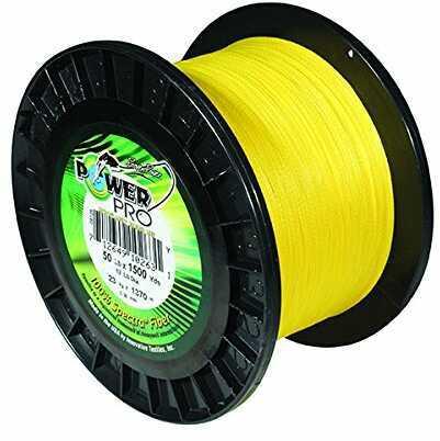 Shimano Power Pro Maxcuatro 80 Pound 1500 Yards Yellow
