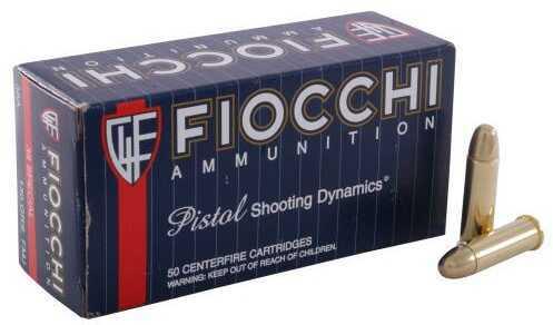 Fiocchi Ammo Fiocchi Shooting Dynamics 38 Special 130 Grain Full Metal Jacket Ammunition, 50 Rounds Per Box