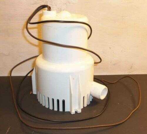 ATTWOOD Pump, Bilge King 12 Volt Md: 4101A4