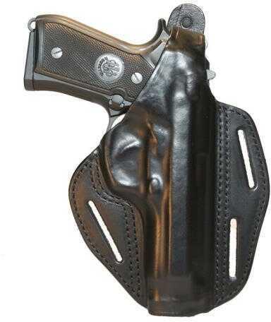 BlackHawk LH Sig 228/229/225 Leather 3-Slot Pancake Holster- Black