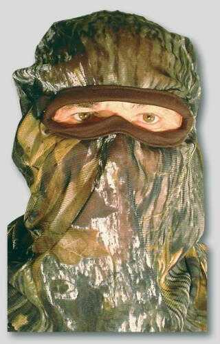 Quaker Boy Bandit Elite Full Facemask Mossy Oak Break Up