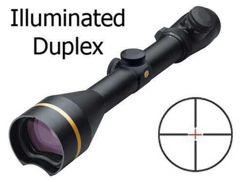 Leupold VX-L QDMA Rifle Scope 30mm Tube 3.5-10x 50mm Illuminated Duplex Reticle Matte