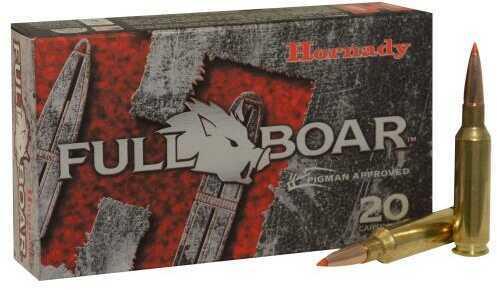 Hornady 6.5 Creedmoor 120 Grain GMX Full Boar Ammunition, 20 Rounds Per Box