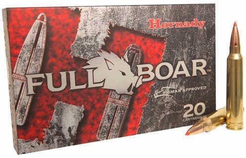 Hornady Full Boar 300 Winchester Magnum Ammo 165gr Gmax 20rds/Box 82023