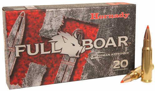 Hornady Full Boar 6.8spc 100gr Gmx 20 rds/Box Ammunition 8348