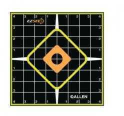 Allen Cases Allen Target Adhesive Grid 8x8 6 Pack 15223