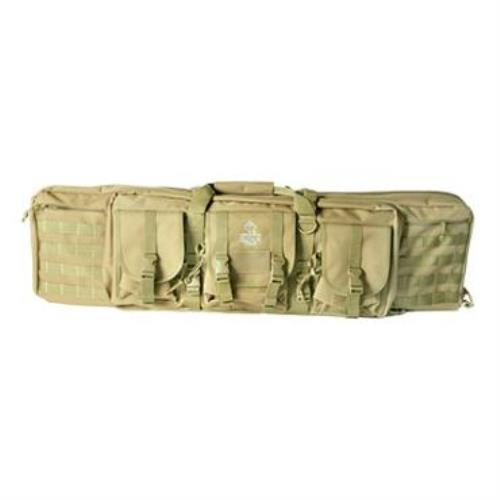 "American Tactical Imports ATI Rukx 36"" Tactical 2-Gun Case Tan ATICT36DGT"