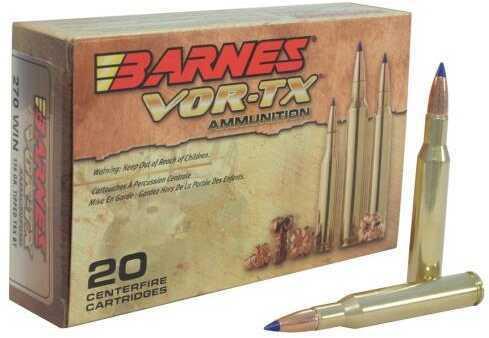 Barnes Bullets Barnes VOR-Tx 7mm Rem Mag 140 Gr TTSX BT 20 Bullets